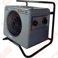 Elektrinis šildytuvas Devitemp 115T, 15kW, su laikmačiu Ventiliatoriniai sildītāji