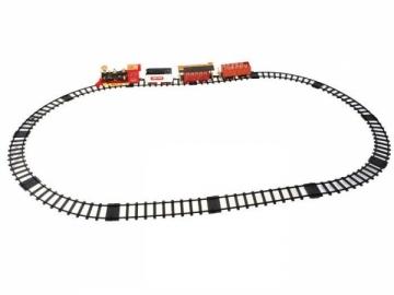 Elektrinis traukinys su nuotolinio valdymo pultu Geležinkelis vaikams