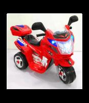 Elektrinis triratis raudonas motociklas WDBLJ8309 RED Automašīnas bērniem