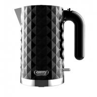 Electric kettle Camry Kettle CR 1269 Standard, Plastic, Black, 2200 W, 360° rotational base, 1.7 L