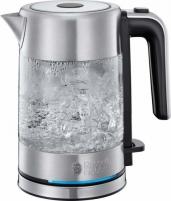 Elektrinis virdulys Electric kettle Russell Hobbs 24191-70 Compact Home | 0,8L glass Электрические чайники