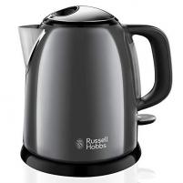 Elektrinis virdulys Electric kettle Russell Hobbs 24993-70 Colours Plus Mini | 1L grey Электрические чайники