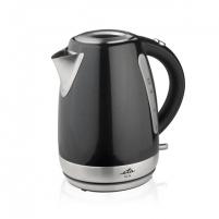 Elektrinis virdulys ETA Kettle ETA859890020 Standard kettle, Stainless steel, Black, 2200 W, 360° rotational base, 1.7 L Elektriniai virduliai