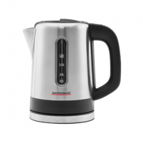 Elektrinis virdulys Gastroback Kettle 42435 With electronic control, Stainless steel, Stainless steel, 2200 W, 1 L, 360° rotational base