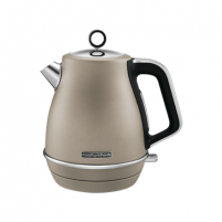 Elektrinis virdulys Morphy richards Kettle 104403 Standard, Stainless steel, Platinum, 2200 W, 360° rotational base, 1.5 L