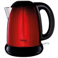 Electric kettle TEFAL KI160511 Kettle, Capacity 1,7L, Red-black