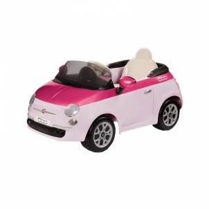 Elektromobilis Fiat 500 6V Pink/Fucsia