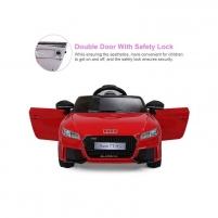 Elektromobilis vaikams AUDI TT RS 12V raudonas (WDJE1198) Automobiliai vaikams
