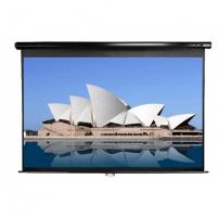 Elite Screens M120UWH2 Manual Pull Down Screen 120'' 16:9 / Diagonal 304.8cm, W 265.7cm x H 149.4cm / Black case
