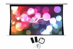 "Elite Screens SKT84XHW-E24 Saker Tab-Tension 84"" /16:9/104,6 x 185,9 cm/White case Projektorių ekranai"