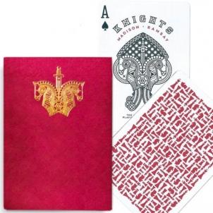 Ellusionist Knights Raudonos kortos