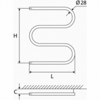 Elonika žalvarinis vandeninis gyvatukas EŽ 400/460/470 S