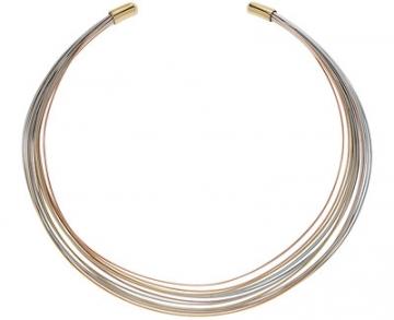 Emporio Armani Luxusní trikolor náhrdelník EGS2188710