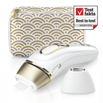 Epiliatorius Braun Epilator PL 5137 IPL Hair Removal System, Bulb lifetime (flashes) 400000, Number of intensity levels 10, Number of speeds 3, White/Gold Epiliatoriai
