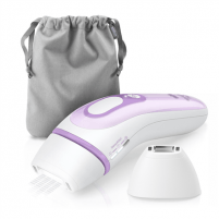 Epiliatorius Braun IPL Epilator Silk-expert Pro 3 PL3111 Corded, Bulb lifetime (flashes) 300000, Number of speeds 2 comfort modes. Normal & gentle mode with a gentle setting ideal for beginners., White/Lilac Epilators