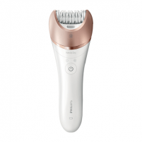 Epiliatorius Philips Satinelle Epilator BRE650/00 Warranty 24 month(s), Number of speeds 2, Operating time 40 min, 5.4 W, White/Pink Epiliatoriai