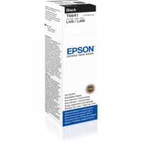 EPSON T6641 BLACK INK BOTTLE 70ML