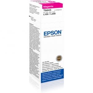 EPSON T6643 MAGENTA INK BOTTLE 70ML