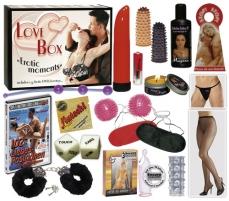 Erotinių prekių rinkinys Love Box international Sekso žaislų rinkiniai