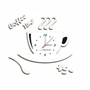 Esperanza EHC006W Sieninis laikrodis - FLORENCE Interjero laikrodžiai