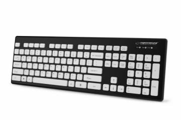 Esperanza EK130K Laidinė, vandeniui atspari USB klaviatūra - SINGAPORE