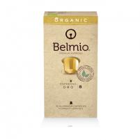 Espresso kapsules Belmoca Belmio Sleeve Oro 1*10 premium , Coffee strength Espresso, Lungo, 100% organic arabica Kava, arbata