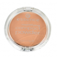 Essence Mattifying Compact Powder Cosmetic 12g 01 Natural Beige Pudra veidui
