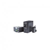 Etikečių spausdintuvas Brother PT-P750WSP Desktop Label printer + 4 tapes (12 mm red on white, 12mm blue on white, 18 mm white on black, 24 mm white on black) Etikečių spausdintuvai