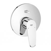 Eurodisc Cosmo vonios maišytuvo įmontuojama dekoratyvinė dalis, chromas