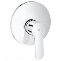 Eurostyle cosmo įmontuojamas dušo maišytuvas su dekoratyvine dalimi, chromas