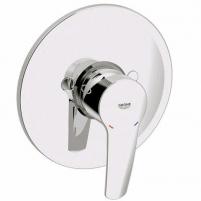 Eurostyle neu įmontuojama dušo maišytuvo dekoratyvinė dalis, chromas