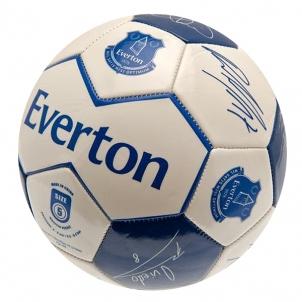 Everton F.C. futbolo kamuolys.