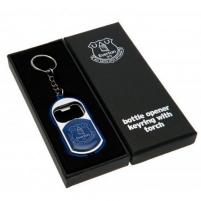 Everton F.C. raktų pakabukas - butelio atidarytuvas (Su žibintuvėliu)