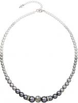 Evolution Group perlų karoliai 32008.3 pilka