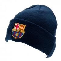 F.C. Barcelona atlenkta žieminė kepurė (Mėlyna)