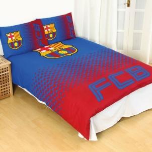 F.C. Barcelona dvigulės, dvipusės patalynės komplektas (Fade) Sirgalių atributika