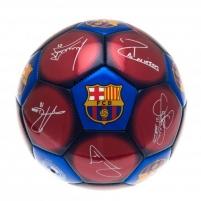 F.C. Barcelona futbolo kamuolys (Spalvotas su parašais) Sirgalių atributika