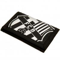 F.C. Barcelona nailoninė piniginė (Juoda)