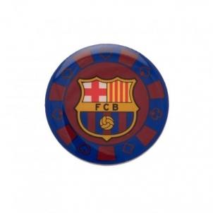 F.C. Barcelona prisegamas ženklelis - pokerio žetonas