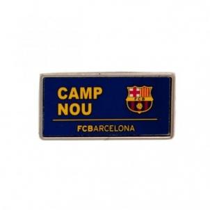 F.C. Barcelona prisegamas ženklelis (Camp Nou)