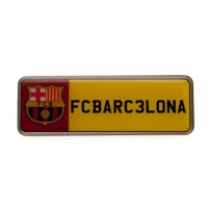 F.C. Barcelona prisegamas ženklelis