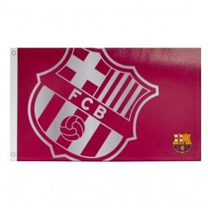 F.C. Barcelona vėliava (raudona)