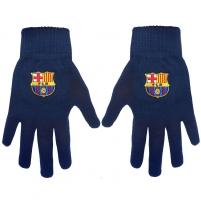 F.C. Barcelona žieminės pirštinės (Juodos) Sirgalių atributika