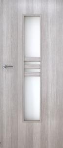 Faneruota durų varčia  INVADO Nida2 D70 Forte kedras (B462) be skylės raktui Faneruotos durys