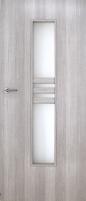 Foiled door leaf INVADO Nida2 D80  Forte cedar (B462) without key hole Veneered doors