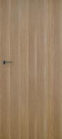 Foiled door leaf INVADO Norma1 D80 Eterno oak (B474) without key hole Veneered doors