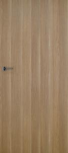 Foiled door leaf INVADO Norma1 K80 Eterno oak (B474) without key hole Veneered doors