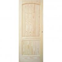 Foiled door leaves MALAGA 81x203 cm, pine