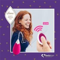 FeelzToys Anna mini vibratorius (rožinė) Mini vibrators