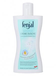 Fenjal Sensitive Shower Cream Cosmetic 200ml Dušo želė